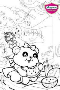 Master Art Panda bear