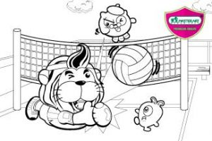 Maste Art Volleyball