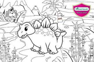 Master Art Stegosaurus