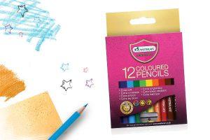 ดินสอสี มาสเตอร์อาร์ต 12 สี