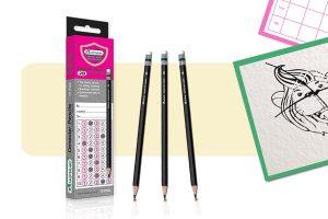 ดินสอ2B มาสเตอร์อาร์ต สีดำ