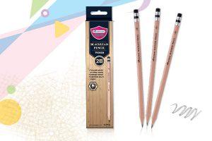 ดินสอไม้ มาสเตอร์อาร์ต เกรดสองบี