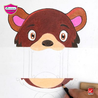 Master Art Pop up Bear