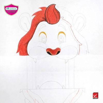 Master Art Pop up Lion