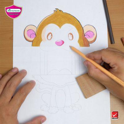 Master Art Pop up Monkey