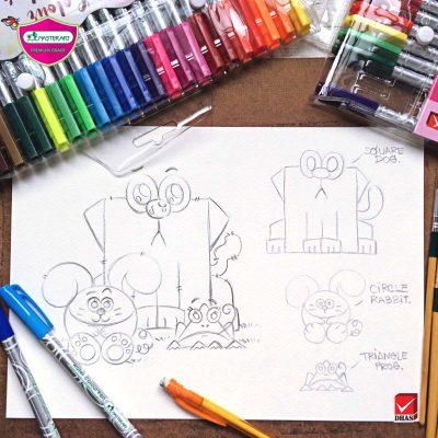 Master Art ปากกาเมจิก สัตว์โลกน่ารัก
