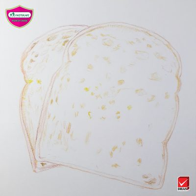 Master Art สีไม้ ขนมปัง