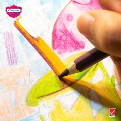 เทคนิคสีไม้ Master Art แปรงฟัน