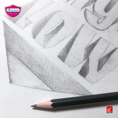 Master Art ดินสอ สอนวาด 3D