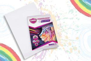 สมุดวาดเขียนJP Master Art ระบายลื่น ขัดสีสดชัด