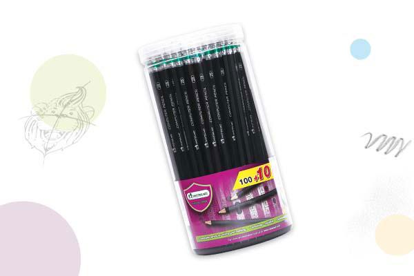 ดินสอ2Bกระบอก100แท่ง(แถมฟรี 10 แท่ง) มาสเตอร์อาร์ต