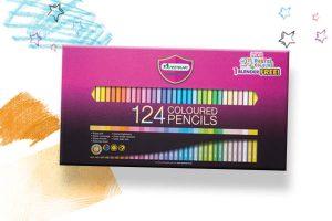 สีไม้ 124 สี มาสเตอร์อาร์ต